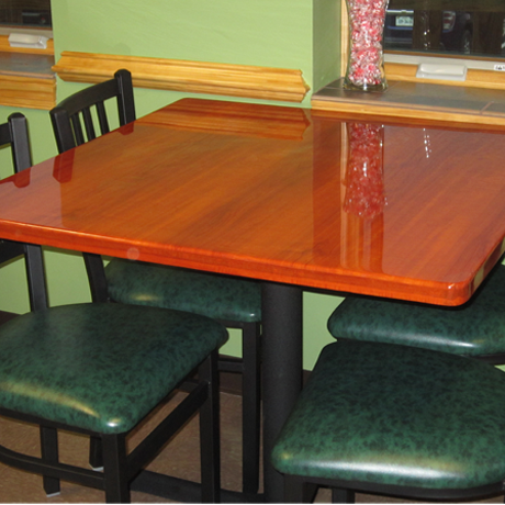 Dining Tables and Bases for Restaurant Use.