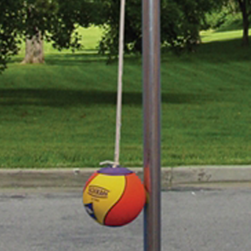 ParknPool's commercial grade tetherball equipment.