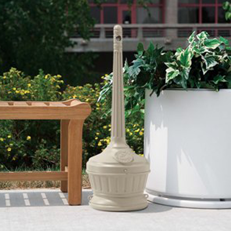 Parknpool's commercial grade outdoor ash urns