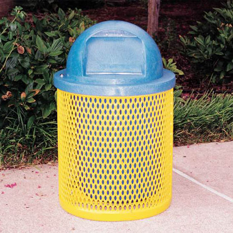 Trash Receptacles for Campgrounds, Parks and Playgrounds
