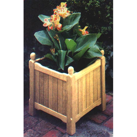 Parknpool's wood garden planters.