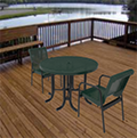 Thermoplastic Coated Patio Furniture