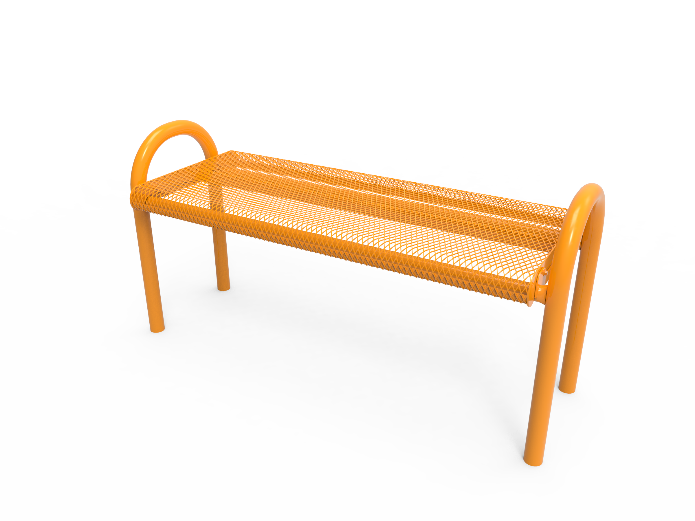4' Lexington MOD Bench without Back