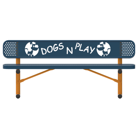 Dog Themed Bench