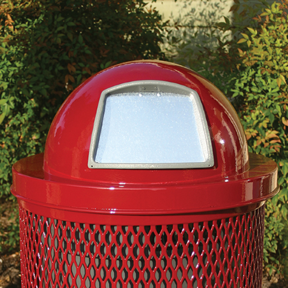 32 Gallon Lexington Steel Dome Lid, Advanced New Coating