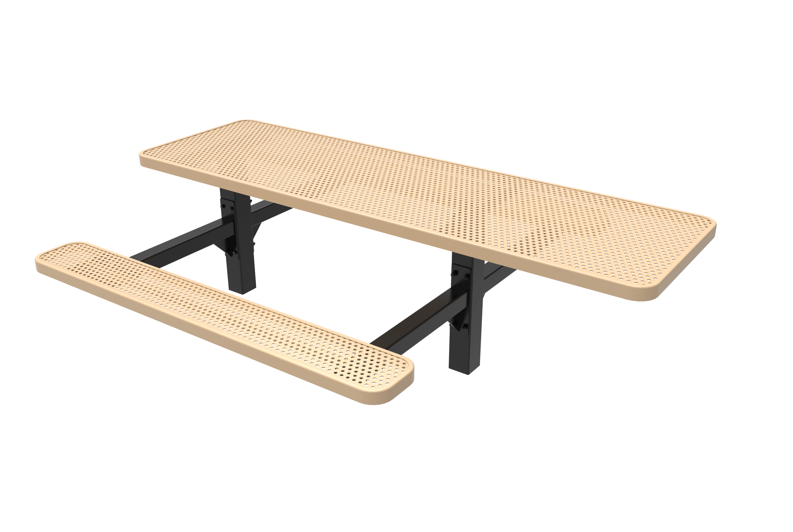 Lexington Rectangular Double Pedestal Table - ADA Accessible