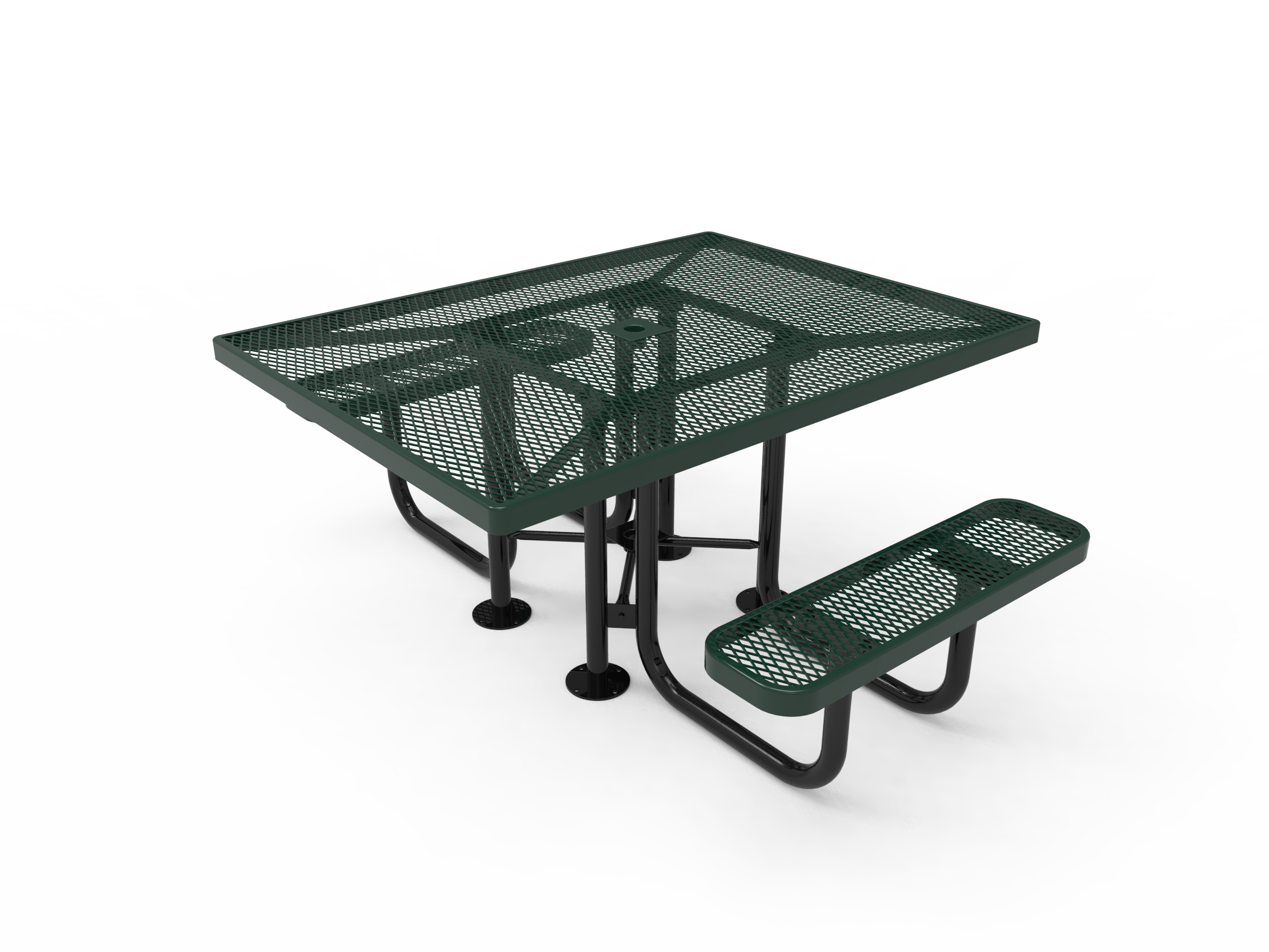 "46"" Lexington Square Portable Table"