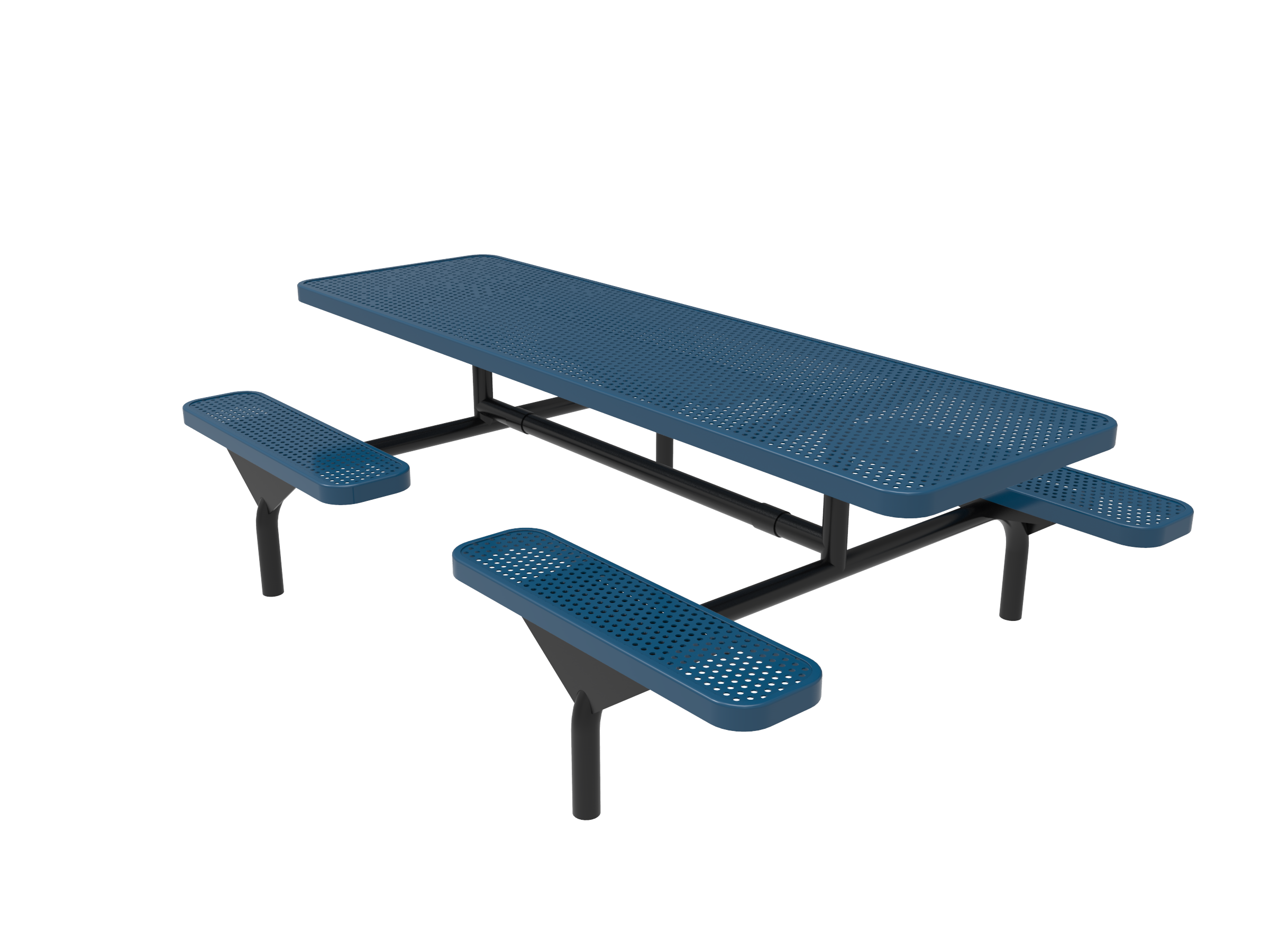 Lexington Rectangular Nexus Pedestal Table, Frame with Powder Coat Finish, Top with Advance DuraLex Coating