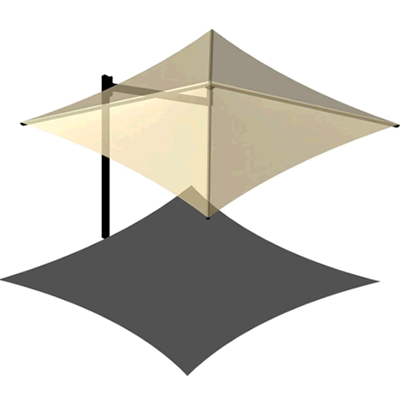 Cantilever Umbrella 8EH x 8'