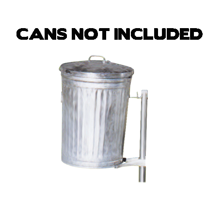 Galvanized Canpost-Receptacles