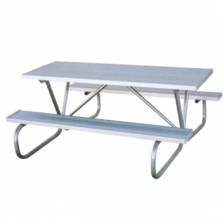 Cascade Style with Aluminum Plank Top-Picnic Tables