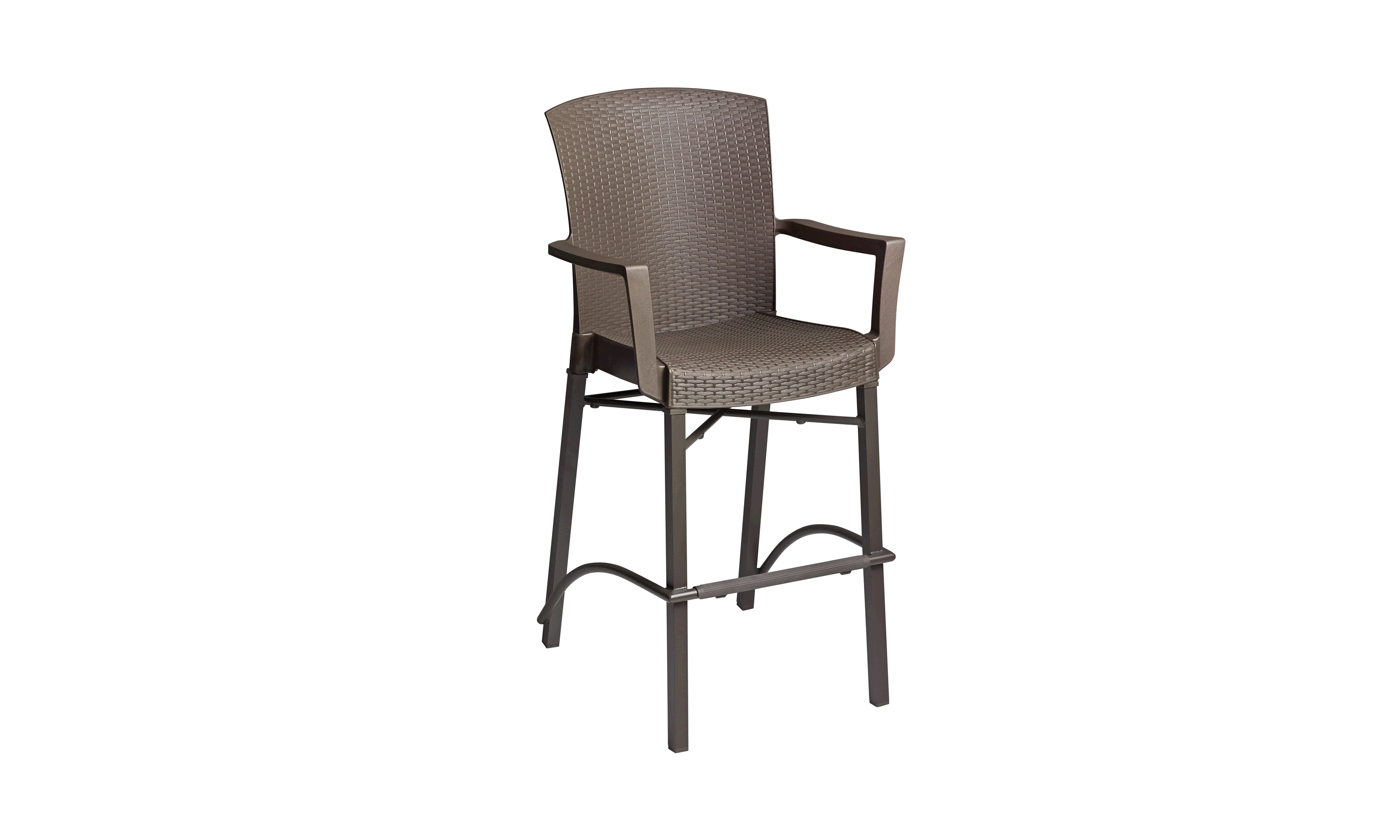 Havana Classic Barstool with Arms - Bronze