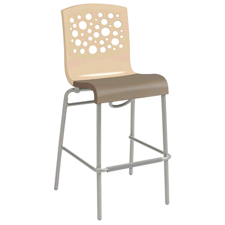 Tempo Stacking Barstool 2 Pack