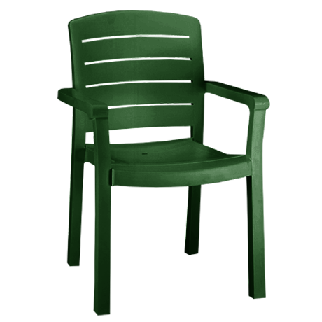Acadia Stacking Armchair - Amazon Green