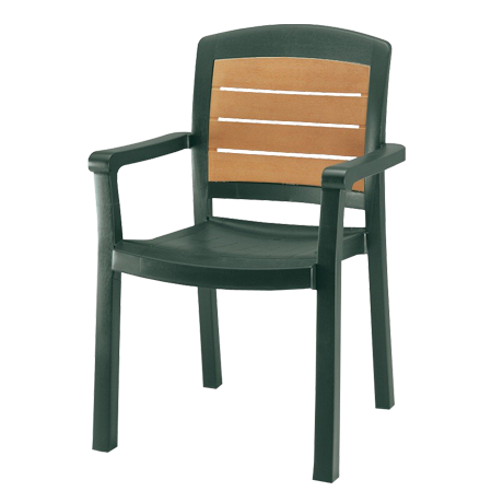 Aquaba Classic Stacking Armchair