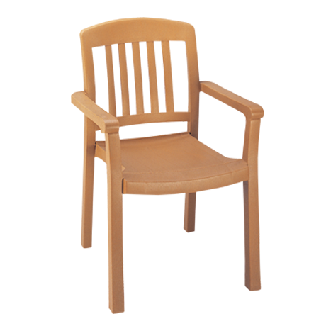 Atlantic Classic Stacking Armchair - Teakwood