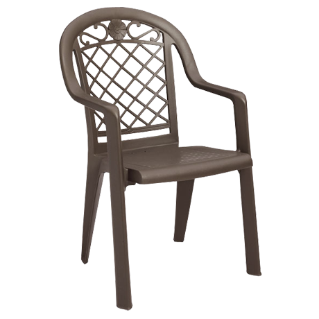 Savannah Stacking Armchair - Bronze