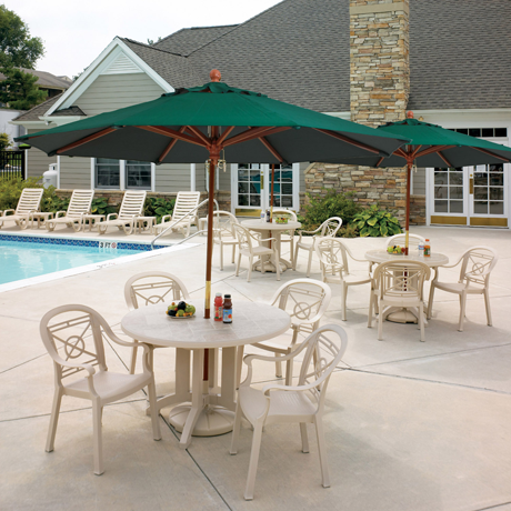 Victoria Classic Stacking Armchair - Poolside Seating