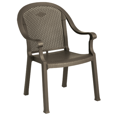 Grosfillex Sumatra Classic Stacking Dining Armchair-