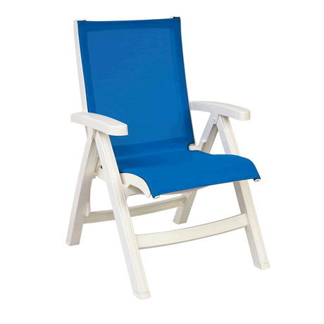 Jamaica Beach Midback Folding Sling Chair