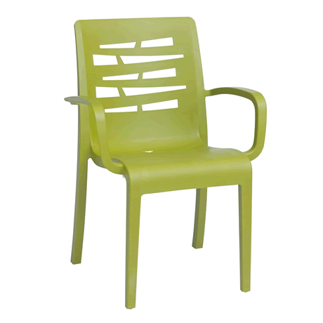 Essenza Stacking Armchair - Fern Green