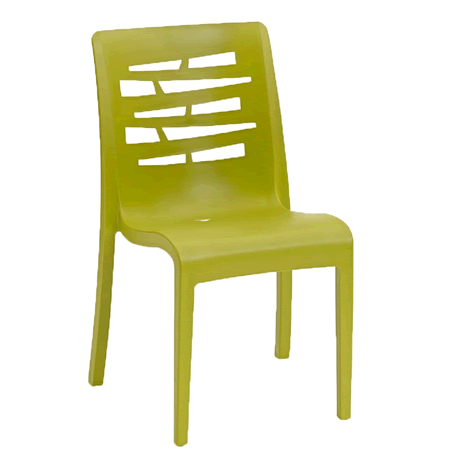 Essenza Stacking Side Chair - Fern Green