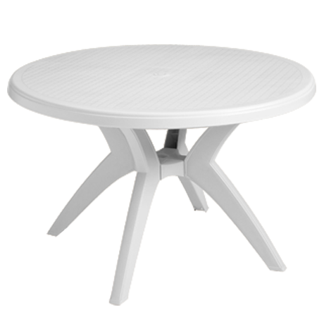 Grosfillex Ibiza 46 In. Round Table-Dining Tables