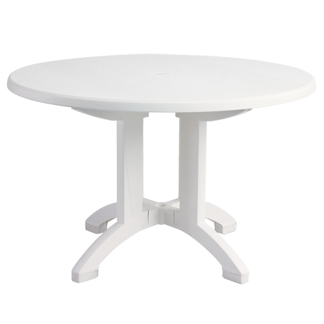 Grosfillex Aquaba 48 In. Round Table-Dining Tables