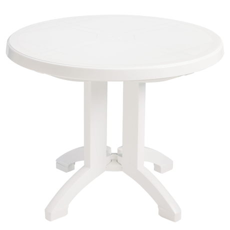 Grosfillex Vega 38 In. Round Folding Table-