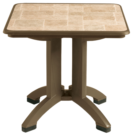 Grosfillex Siena 32 In. Square Table-