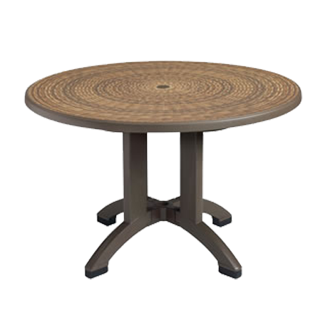 "Havana 48"" Round Pedestal Table"