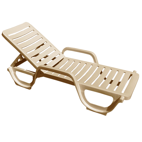 Grosfillex Bahia Chaise Lounge-