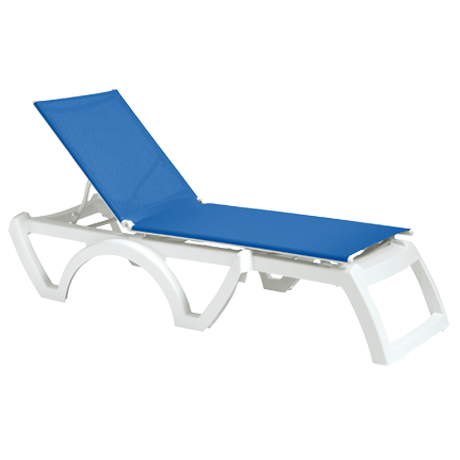 Calypso Adjustable Sling Chaise Lounge 2 Pack