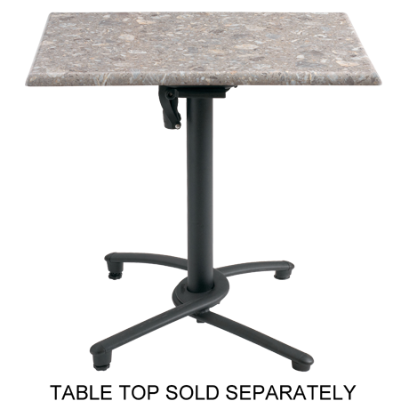 Grosfillex Aluminum Tilt Top Base 100-Table Bases