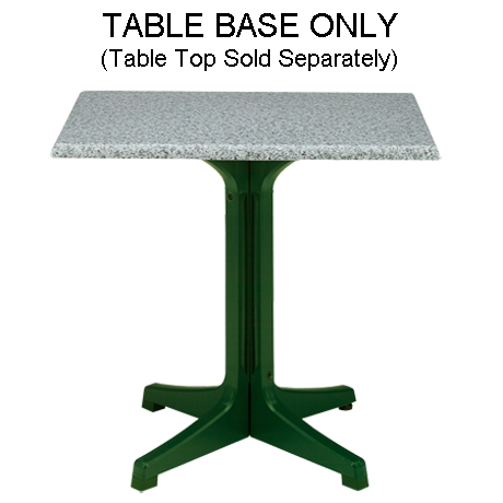 Grosfillex Resin Pedestal Base 1000-Table Bases