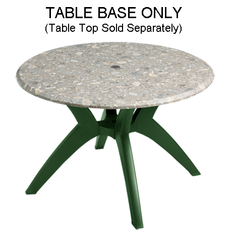 Grosfillex Y-Leg Pedestal Base-Table Bases