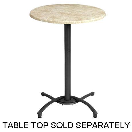 Grosfillex Bar Height Table Base-Table Bases