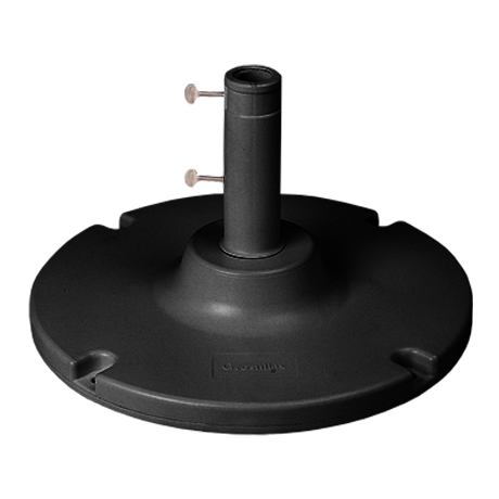 Grosfillex Table Umbrella Base with 10 In. Stem-Umbrella Base