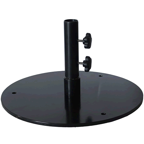 "50 lb. Flat 20"" Round Umbrella Base"