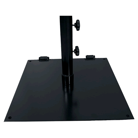 "75 lb. Flat 24"" Square Umbrella Base"