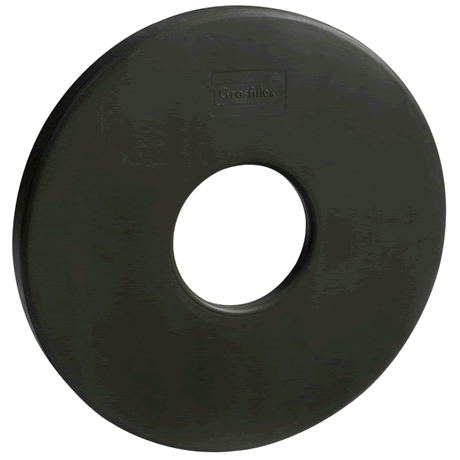 35 lb. Optional Umbrella Base Ring - Black