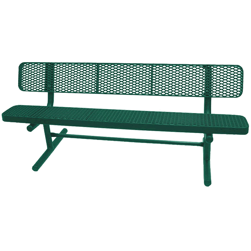 Champion Series Park Bench with Back