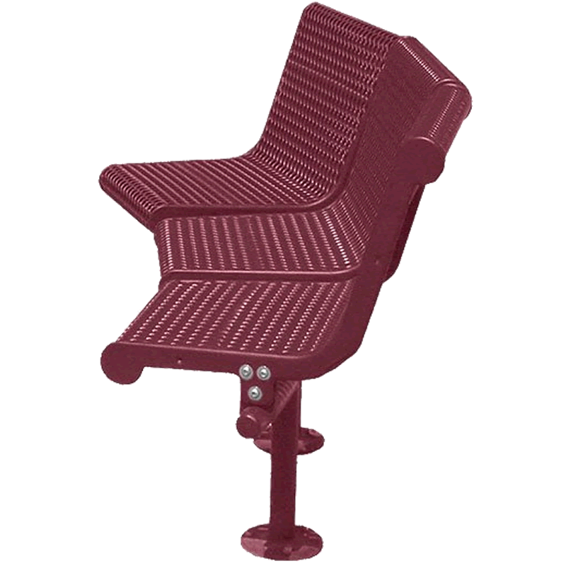 Grand Contour Series 45 Degree Bench with Back