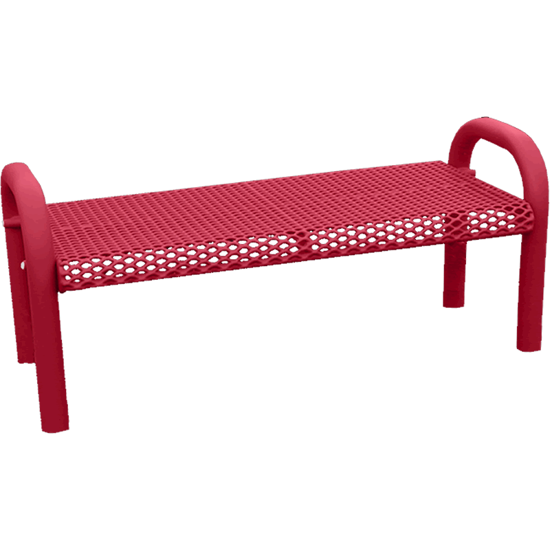 Grand Contour Series Park Bench without Back