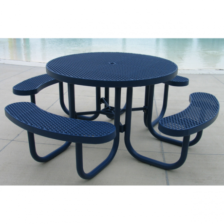 Champion Style Round Top-Picnic Tables