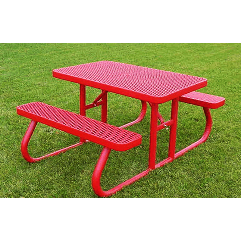Champion Series Rectangle Picnic Table - Free Standing