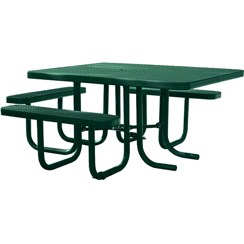 Champion Series Accessible Picnic Table - Free Standing - 4' x 5' Top