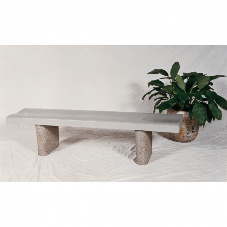 Concave Concrete Bench-Benches and Glider Benches