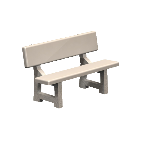 Lakeside Concrete Bench-Benches and Glider Benches