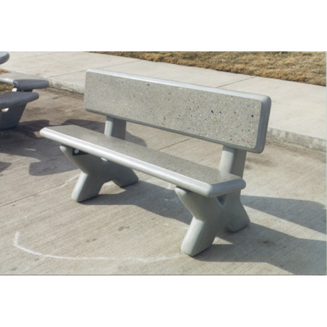 X-Terra Concrete Bench-Benches and Glider Benches